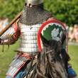 Knights jousting - Stock Photo