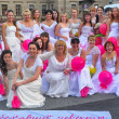 Brides parade 2012 — Stock Photo