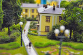 Museum Grand Layout Russia — Stock Photo