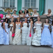 Stock Photo: Brides parade 2012