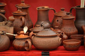 Clay pots vases for sale — Stockfoto