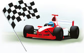 Formula one — Stock Vector
