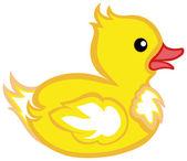 Rubber duck — Stock Vector