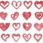Vector hearts set — Stock Vector #11451657