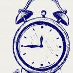 Çalar saat — Stok Vektör