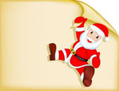 Santa Claus - Blank — Vector de stock