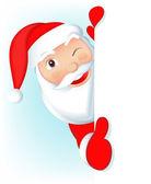 Babbo Natale - vuoto — Vettoriale Stock