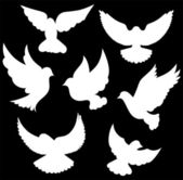 Vector dove symbol — Stockvektor