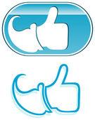 Thumb Up — Stock Vector