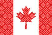 Canadian flag — Stock Vector