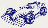 Formula 1 race — Stock Vector