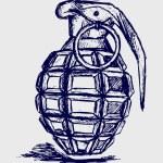 Hand grenade — Stock Photo #12068020