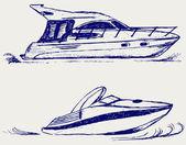 Luxusní jachta — Stock fotografie