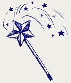 Magic wand — Stock Photo