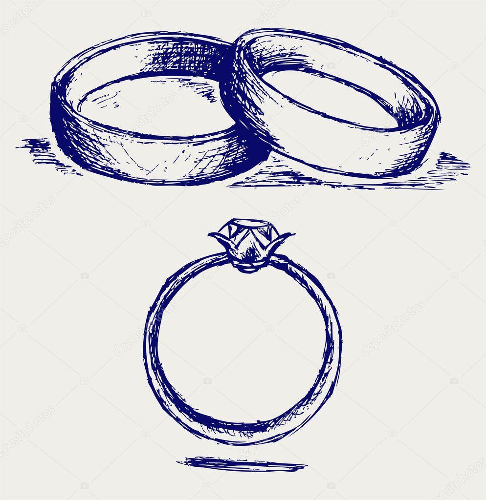 Кольцо с рисунком своими руками