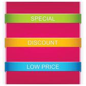 Ribbon design — Stock Vector