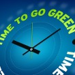 Stock Photo: Time to go green