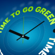 Time to go green - Stock Photo