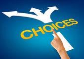 Choices — Stock Photo