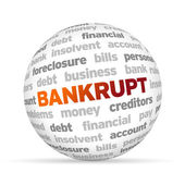 Bankrupt — Stock Photo