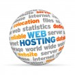 Web Hosting — Stock Photo