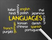 Languages — Stock Photo