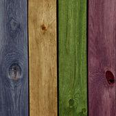 Texture de bois coloré abstrait fond — Photo