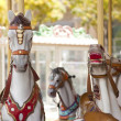 Vintage carousel — Stock Photo