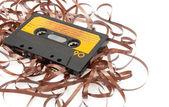 Retro Audio Cassette Tape — Stock Photo