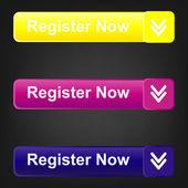 Download, now - Vector stickers — Stock Vector