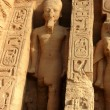 Stock Photo: Ramses II at Abu Simbel in Egypt