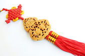 Chinese auspicious knot — Stock Photo