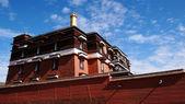 Tibetan lamasery — ストック写真