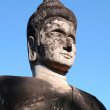 Historic buddha sculpture in Laos - Foto Stock