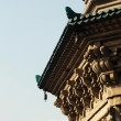 Details of a historic pagoda — Stock Photo