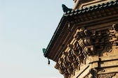 Details of a historic pagoda — Stockfoto