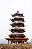 Pagode chinês antigo — Foto Stock