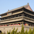 Drum Tower in Xian China — Stock Photo #10953927