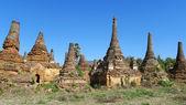 Budist kuleleri Myanmar — Stok fotoğraf
