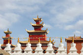 Tarihi tibet rahipleri — Stok fotoğraf