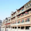 Historic buildings downtown of Xian China — Stockfoto