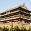 drum tower of xian china — Stock Photo
