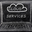 Cloud service — Stock Photo