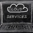 Cloud service — Stock Photo #11102330