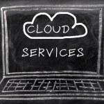 Cloud service — Stock Photo