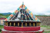 Tibetan lamasery — Stock Photo