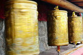 Tibetan prayer wheels — Photo