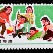 CHINA - CIRCA 1965: A Stamp printed in China shows image of chil — Stock Photo