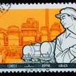 CHINA - CIRCA 1964: A Stamp printed in China shows image of chem - Stock Photo