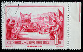 CHINA - CIRCA 1955: A Stamp printed in China shows image of Tibe — Stock Photo